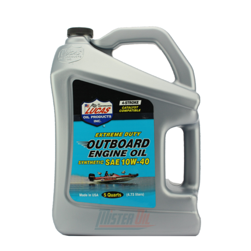 Lucas Oil Outboard Synthetic Engine Oil (10813)