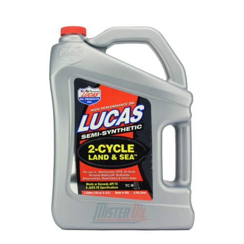 Lucas Oil Semi-Synthetic 2 Cycle Land & Sea Oil (10557)