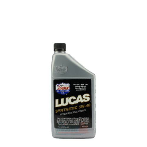 Lucas Oil Synthetic Motor Oil (10186)